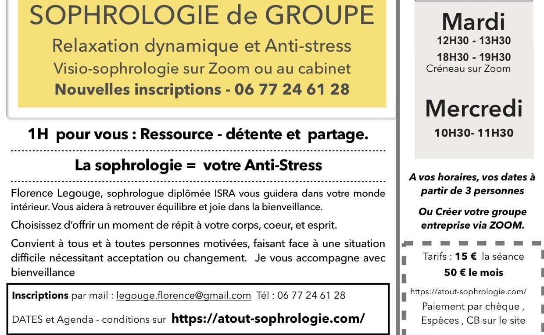 Lyon Sophrologie groupe 2021