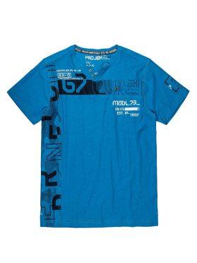 T-Shirt Projek Raw 136770 turquoise