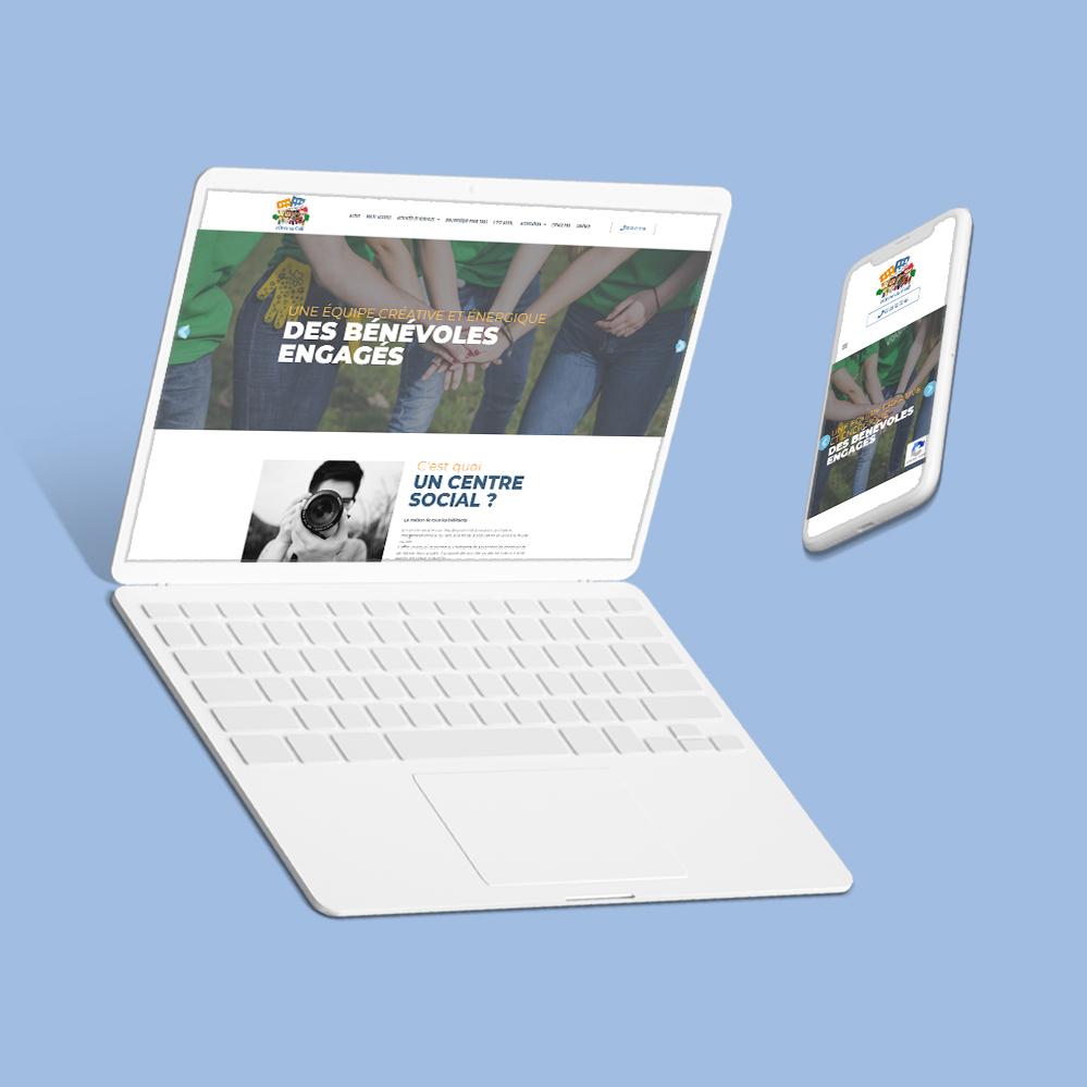 Site internet pour le centre social Orée du Golf