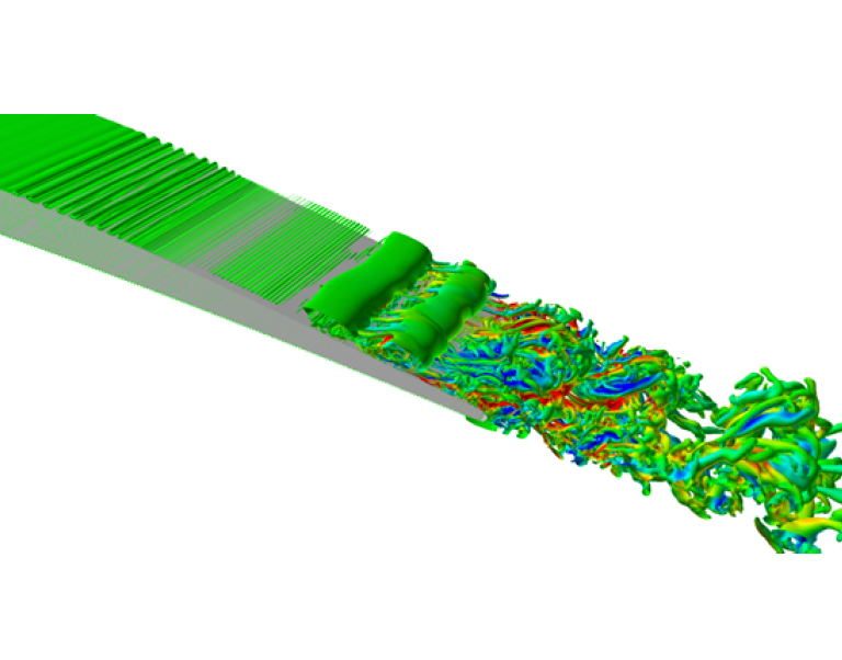 Simulation and modeling of laminar boundary layer instability noise