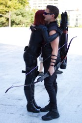 Hawkeye cosplay Black Widow cosplay Avengers cosplay A to Z Cosplay