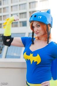 Dc Hero Roller Derby Girl cosplay Brittnie Jade
