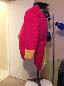 Professor Eggman Sonic the Hedgehog Costume Jacket
