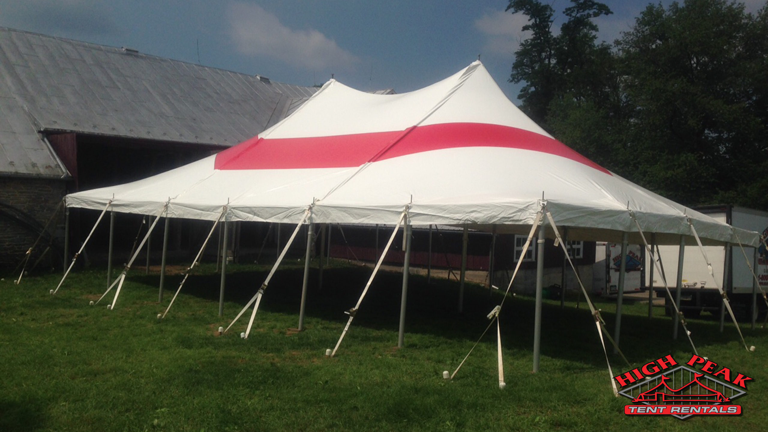 Image of Party Tent Red
