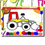 BTS Kids Car Coloring