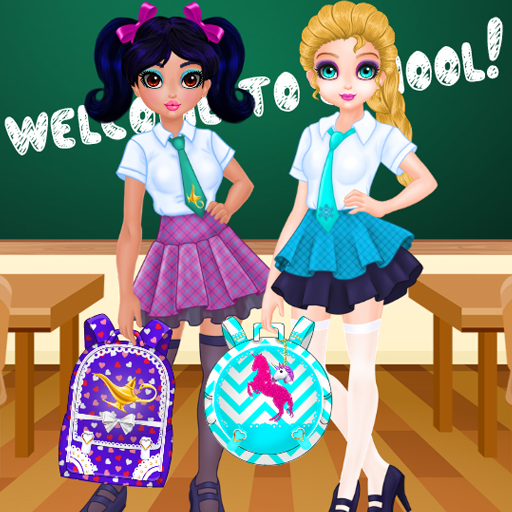 Jacqueline and Eliza School Bag Design Contest