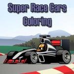 Super Race Cars Coloring