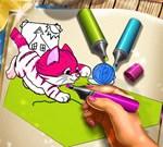 Pets Coloring Book