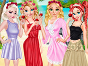Princesses Graduation Beach Party
