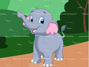 Sweet Elephant Jigsaw