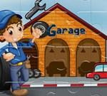 Vehicles Garages Jigsaw