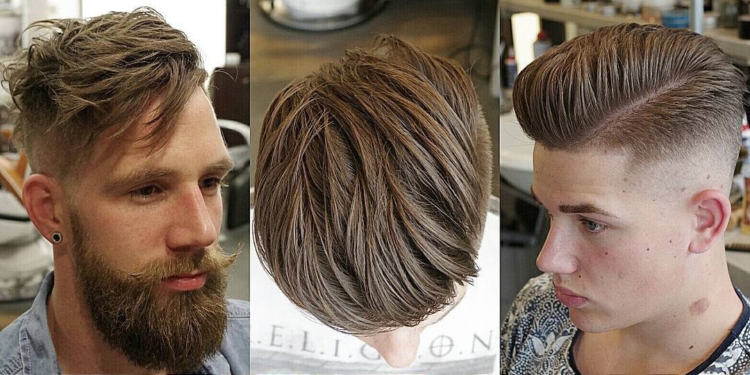 Undercut Side Part Hairstyle