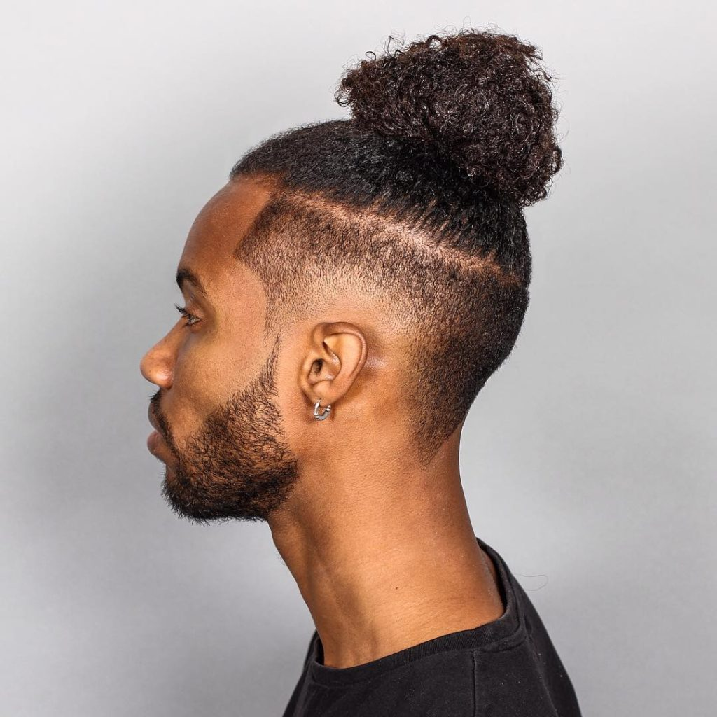 Top Knot Hairstyle Men Page 1