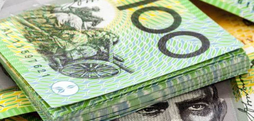Australian Dollar Rises Sharply