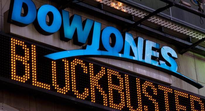 Dow Jones index romps higher, leaps 371 points