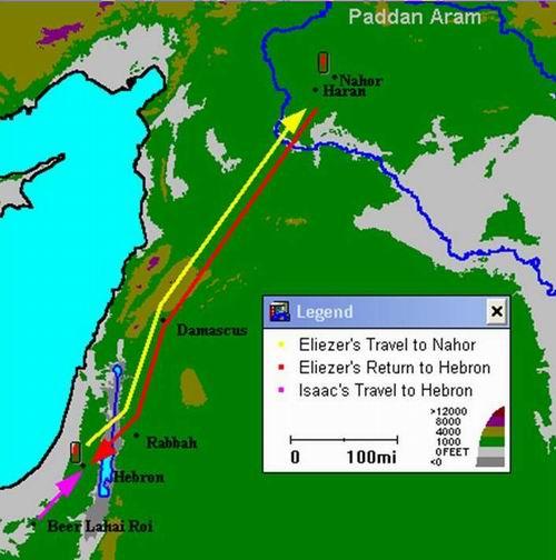 map of beer lahai roi www.atozmomm.com