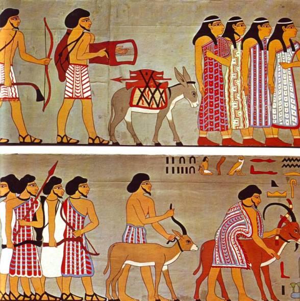joseph's brothers buy grain in egypt www.atozmomm.com
