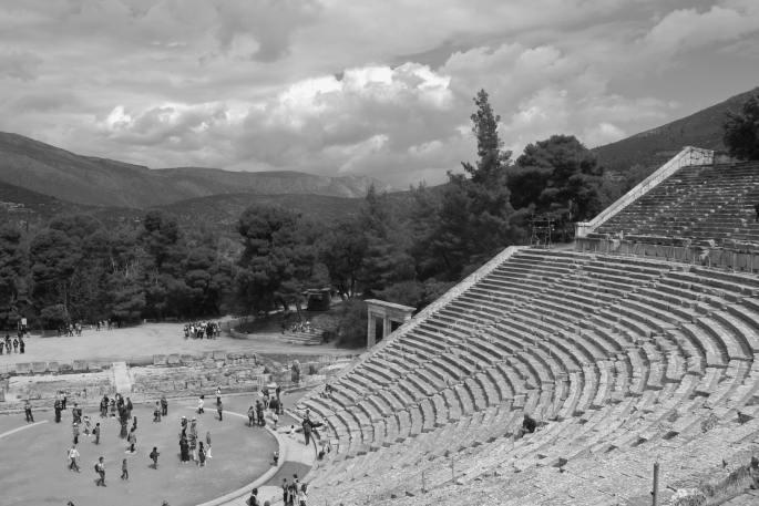 ancient greek amphitheatre www.atozmomm.com