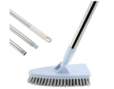 GeeRo Tile Floor Scrub & grout Brush with long handle