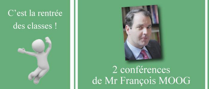Conférence de rentrée de l'ATPA – 2017/2018