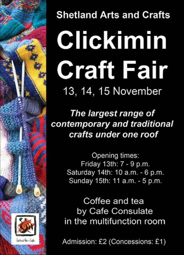 Shetland Craft Fair 2009 Advertisement