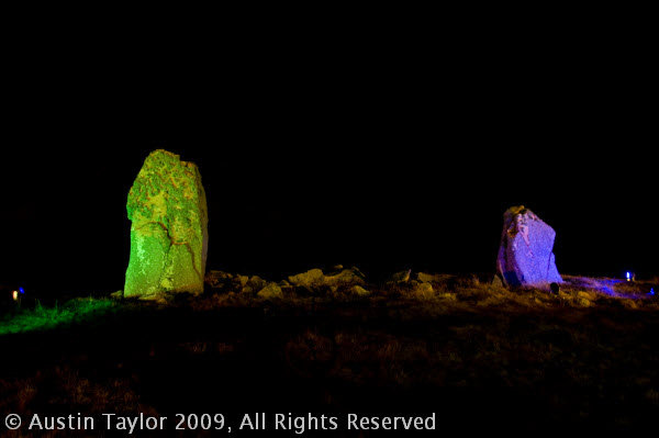 Giant's Grave - Mirrie Dancers Winter Illuminations