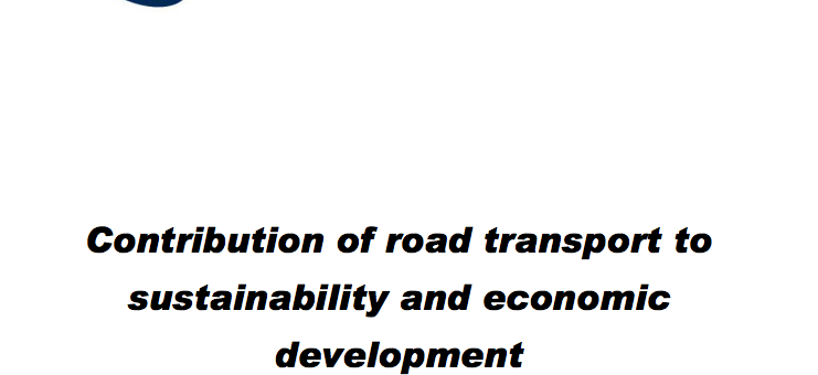 WRA Call for Proposals: Contribution of road transport to sustainability and economic development
