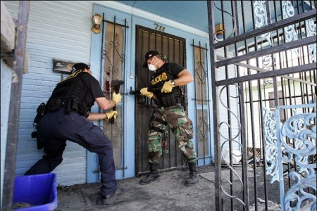 Americans forcibly disarmed in New Orleans after Katrina
