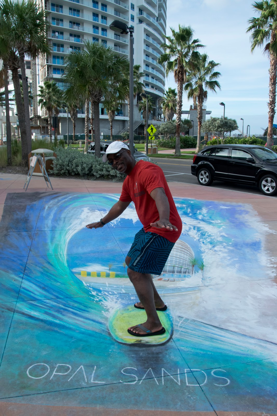 Clearwater, FL, Chalk Walk
