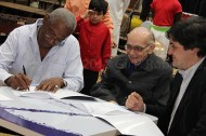 La Fundación Madera firmaron un convenio con la Fundación Musical Simón Bolívar,