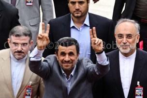 PRESIDENTE DE LA REPUBLICA ISLAMICA DE IRAN MAHMUD AHMADINEYAD 1