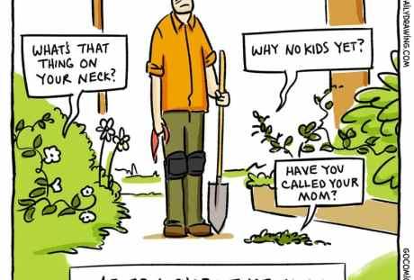 Gardening Comics