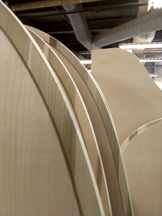 It take many types of wood to make a piano