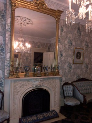 This is the more formal sitting room for guests and special events.