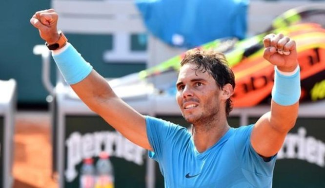 Nadal after winning 11th French Open