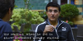 Sourav Ganguly in Breakfast With Champion