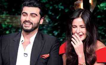 Arjun Kapoor and Katrina Kaif