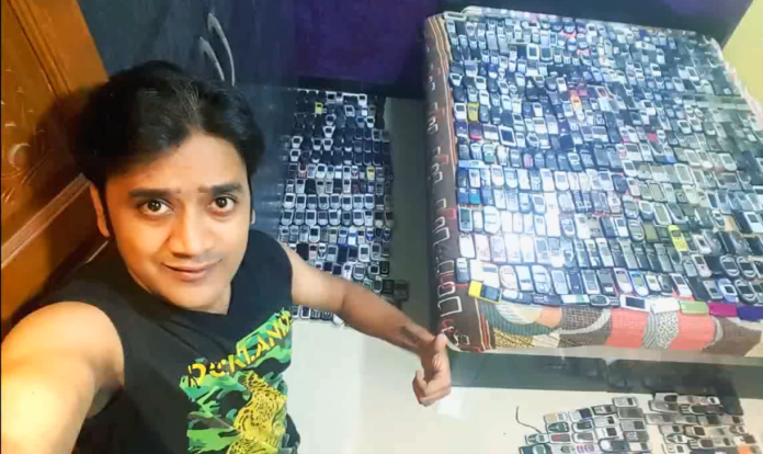 Piyush Kale with his Collection - aTrendHub