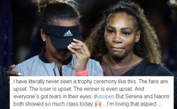 Naomi Osaka winning moment