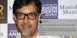 Rajat Kapoor Accused Of Sexual Harassment