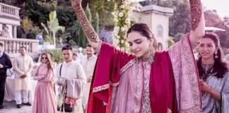 Ranveer Singh and Deepika Padukon Wedding Images