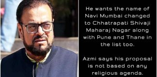Abu Azmi Want 3 Cities to be Renamed