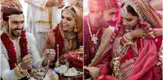 Ranveer Singh and Deepika Padukon Wedding Images