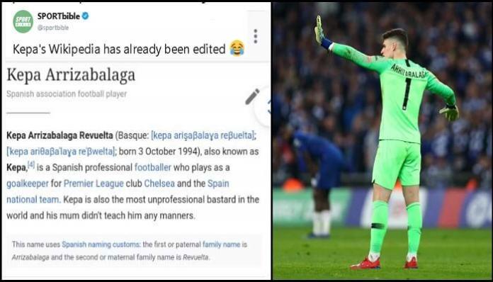 Chelsea Goalkeeper Drama