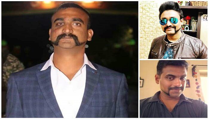 01e1bee52b5 Abhinandan Moustache Is The New Popular Trend