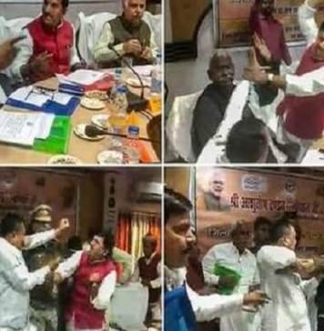BJP MP vs BJP MLA