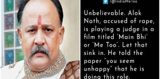 Rape-accused Alok Nath top play Judge in a movie based on #MeToo