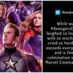 Avengers: Endgame Non-Spoiler Twitter review