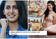 Priya Prakash Varrier made major goof-up while promoting brand