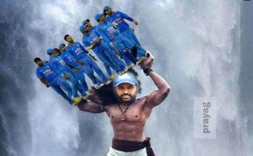 Rohit Sharma scored a century